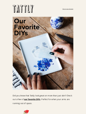 Tattly - Our Favorite DIYs