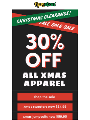 All Christmas Sweaters Just $34.95!