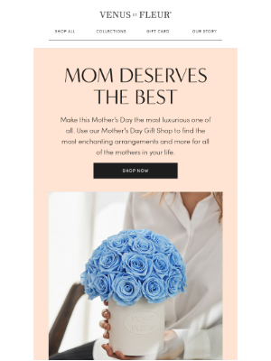 VenusETFleur - Give Mom Real Flowers That Last A Year