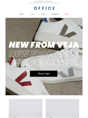 OFFICE Shoes (UK) - New arrivals from Veja
