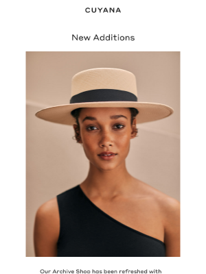 Cuyana - Our Archive Shop: New Items Added