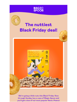 Magic Spoon - Our Black Friday deal is nuts! 🥜