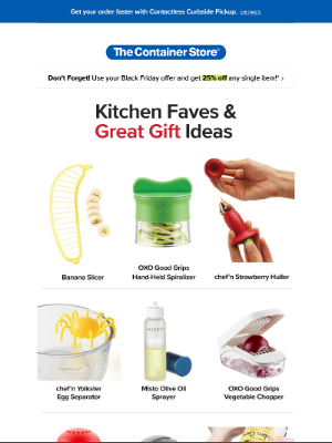 The Container Store - Kitchen Faves & Great Gift Ideas