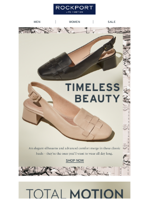 Rockport Company - Our new slingbacks mix and match with everything in your closet.