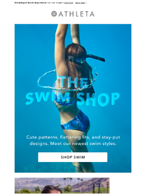 Athleta - Recommended for You: The Swim Shop