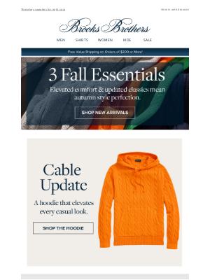 Brooks Brothers (AU) - Enjoy 20% Off fall essentials