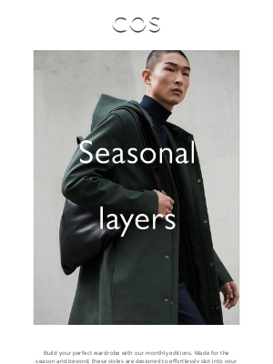 COS - Core by COS: the layers to live in