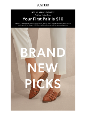 JustFab - Your Boutique Has Been Updated
