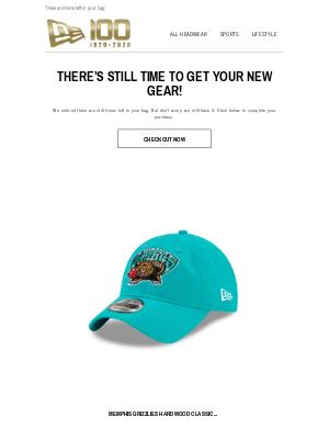 New Era Cap - You left us holding your Bag!
