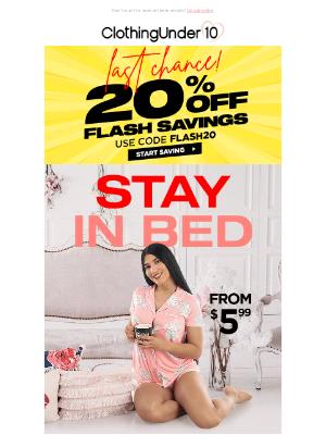 ClothinguUnder10 - New Sleepwear 💤 [24Hr] left for 20% OFF ⏱