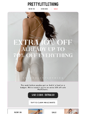 PrettyLittleThing USA - No half measures here 🙅 an extra 10% off everything!