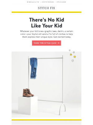 Your Kid's One of a Kind—Their Clothes Should Be Too!