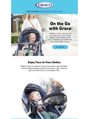 Graco Baby Products - Get in gear for spring...