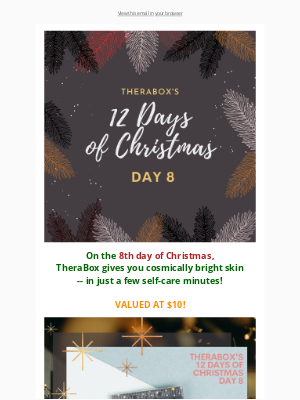 TheraBox - DAY 8 of TheraBox's 12 Days of Christmas Freebies 🎅