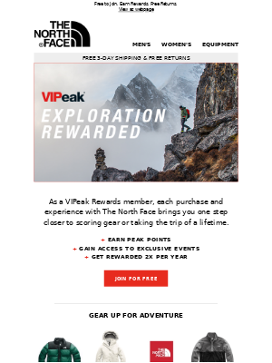 You're invited to join VIPeak Rewards