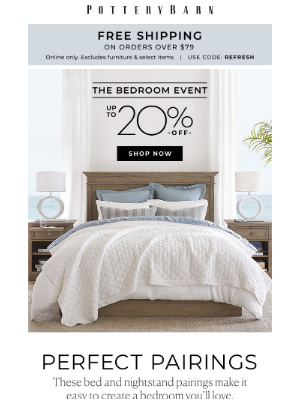 Pottery Barn - Now on sale: our favorite looks