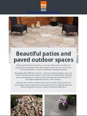 DIY at B&Q (UK) - Step this way for beautiful patios and paving