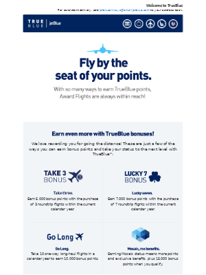 JetBlue Airways - TrueBlue & You: Let's get to the points!