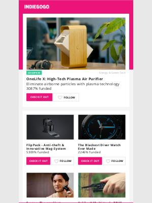 Indiegogo - High-Precision Laser Technology