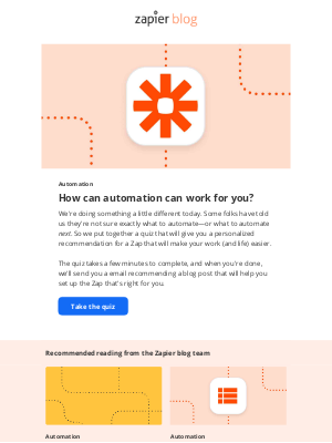 Zapier - How can automation work for you?