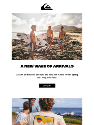 Quiksilver - A New Wave Of Arrivals