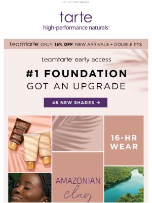 Tarte Cosmetics - #1 FOUNDATION JUST GOT AN UPGRADE