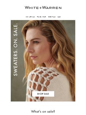 White + Warren - On Sale Now: Cashmere For Under $200