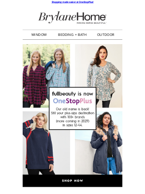 Brylane Home - The ultimate plus-size destination: 100+ brands in sizes 12-44