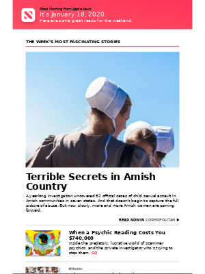 Terrible Secrets in Amish Country