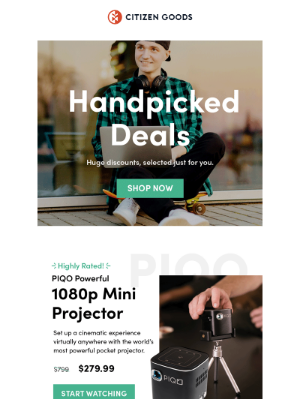 We Handpicked these Deals Just For You