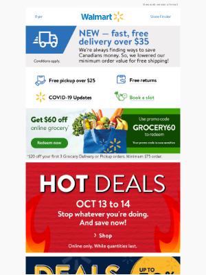 Walmart (CA) - Hot DEALS 🔥