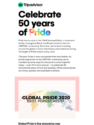 Join the celebration — virtual Pride is streaming now