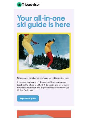 TripAdvisor - Your Ultimate 2021 Ski Guide ⛷️