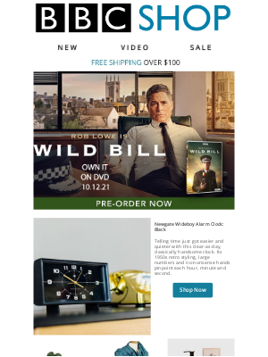 BBC - Rob Lowe is Wild Bill: Pre-Order Today!