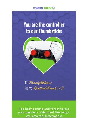 KontrolFreek - Send Your Squad a KontrolFreek Valentines 💜