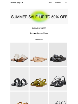 Summer Shoes: Shop by Style