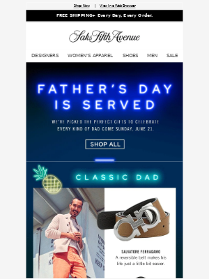 Father's Day gifts for every kind of dad