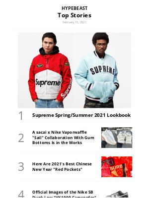 HYPEBEAST - Supreme Spring/Summer 2021 Lookbook