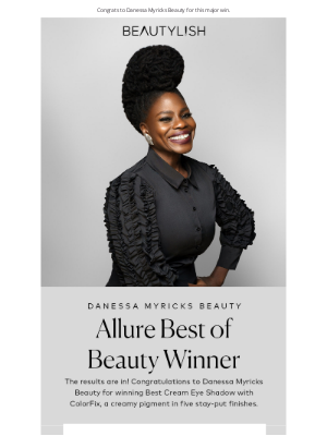 Beautylish - And the Allure Best of Beauty award goes to… 🏆