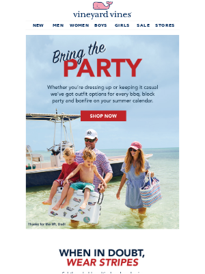 Bring On The BBQs, Block Parties, Bonfires…