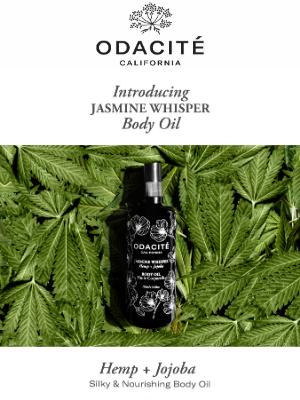 Odacité - It's Finally Here! Jasmine Whisper Body Oil ❣️