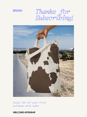 BAGGU - Your 10% off code is inside!