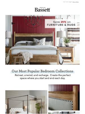 Bassett Furniture Industries - Take 25% Off Best-Selling Bedroom Styles