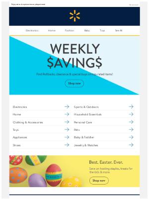 🚨Top-rated items. BIG weekly savings.🚨