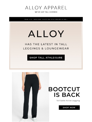 Alloy Apparel - Step up Your Athleisure Game