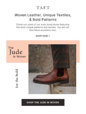 Taft - Unique Textiles, Woven Leather & Camo Finishes 🔥