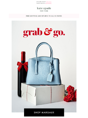 Kate Spade New York - your true blue bag in a new color
