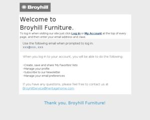 Broyhill Furniture - Welcome, Lorem Ipsum!