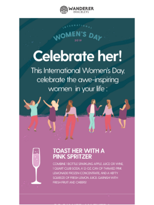 How to celebrate the special women in your life this International Women's Day