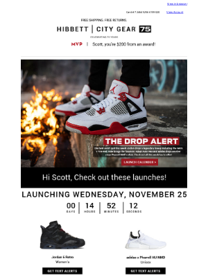 Hibbett Sports - Hype you can't extinguish 🧯 The Jordan Retro 4 'Fire Red' + more dropping this week!